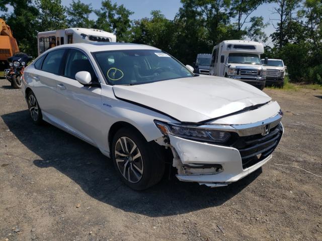 Salvage cars for sale from Copart Marlboro, NY: 2019 Honda Accord Hybrid