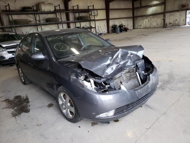 Salvage cars for sale at Eldridge, IA auction: 2007 Hyundai Elantra GL