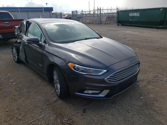 Salvage cars for sale from Copart Houston, TX: 2017 Ford Fusion SE