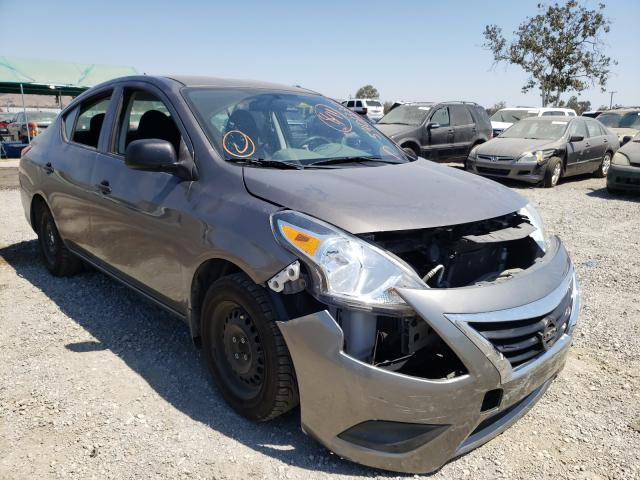 Salvage cars for sale from Copart San Martin, CA: 2015 Nissan Versa S