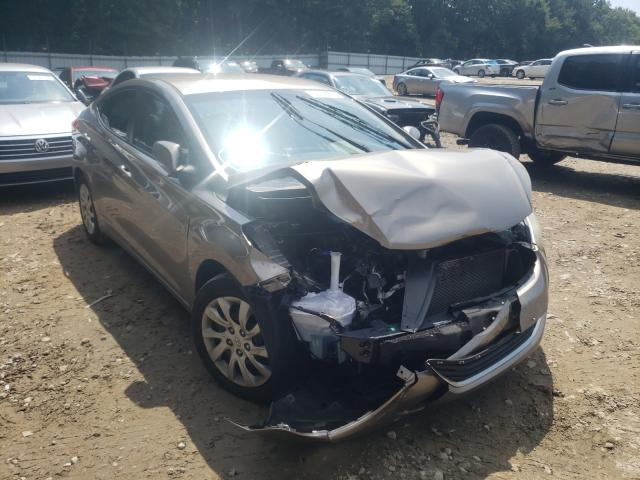 Hyundai salvage cars for sale: 2012 Hyundai Elantra GL
