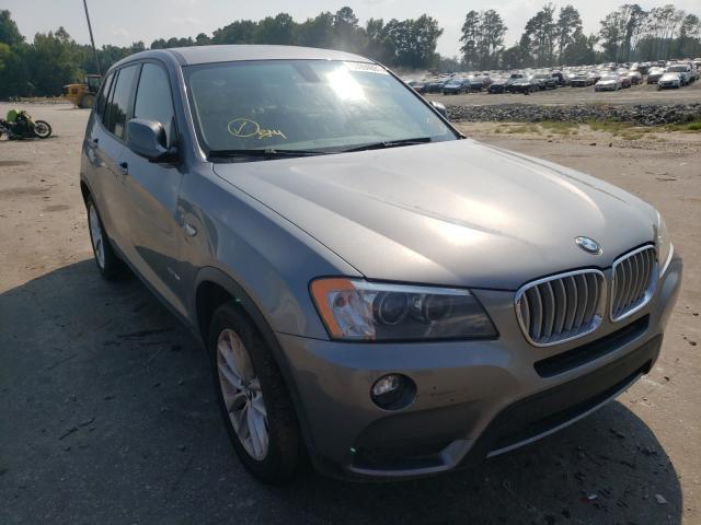 Vehiculos salvage en venta de Copart Dunn, NC: 2013 BMW X3 XDRIVE2