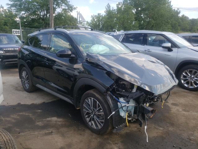 Salvage cars for sale from Copart Marlboro, NY: 2021 Hyundai Tucson Limited