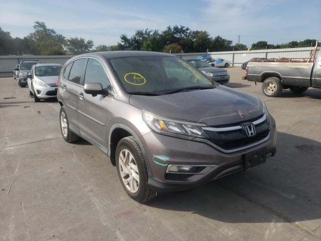 Vehiculos salvage en venta de Copart Wilmer, TX: 2016 Honda CR-V EX
