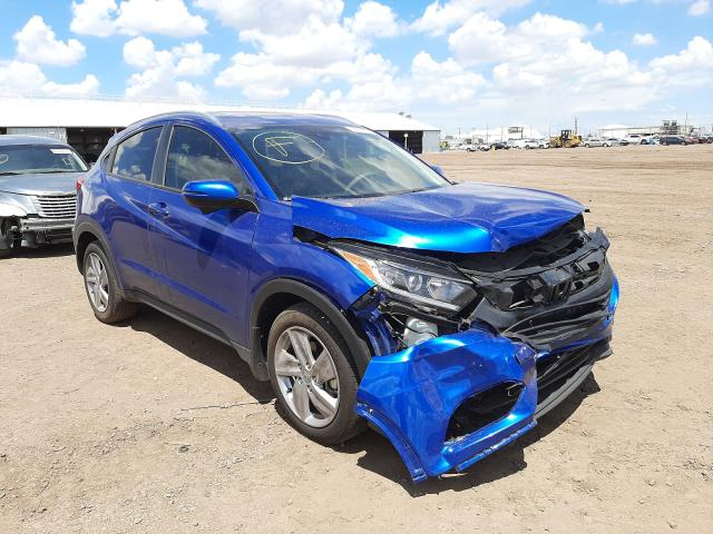 Salvage cars for sale from Copart Phoenix, AZ: 2019 Honda HR-V EX