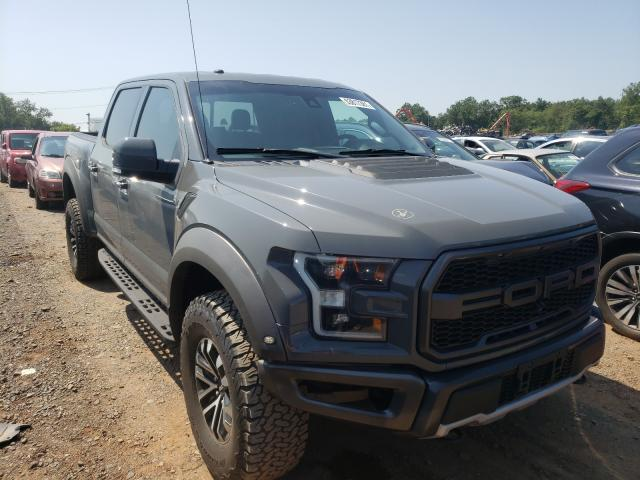 Salvage cars for sale from Copart Hillsborough, NJ: 2018 Ford F150 Rapto
