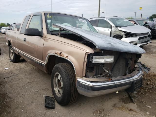 Salvage cars for sale from Copart Indianapolis, IN: 1997 GMC Sierra C15