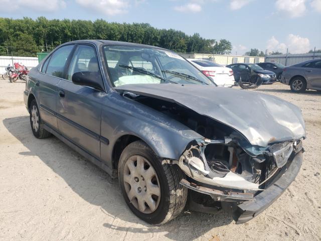 Salvage cars for sale from Copart Hampton, VA: 1998 Honda Civic LX