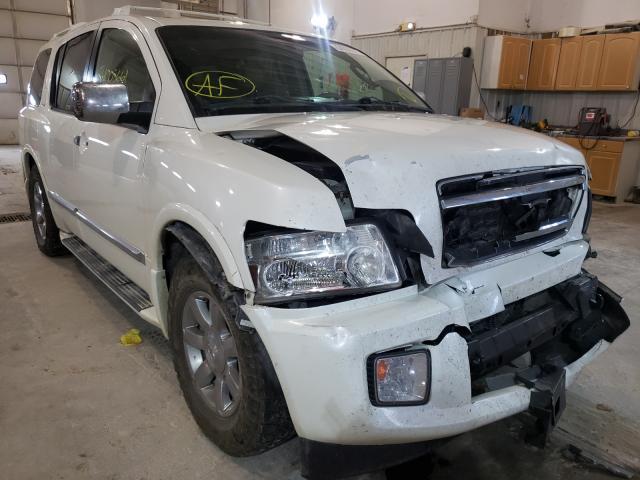 Vehiculos salvage en venta de Copart Columbia, MO: 2005 Infiniti QX56