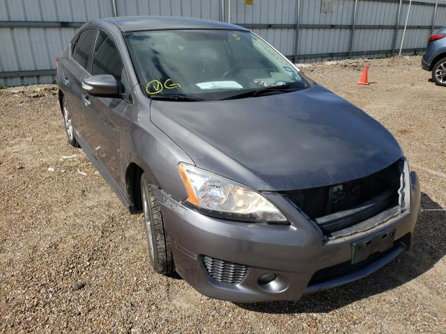 Salvage cars for sale from Copart Mercedes, TX: 2015 Nissan Sentra S