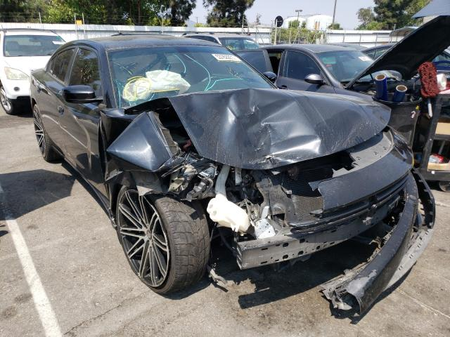 Salvage cars for sale from Copart Rancho Cucamonga, CA: 2018 Dodge Charger SX