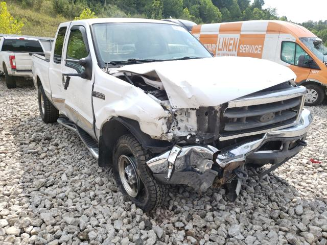 Salvage cars for sale from Copart Hurricane, WV: 2004 Ford F250 Super