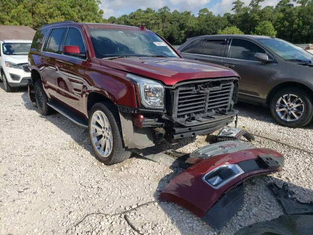 Salvage cars for sale from Copart Houston, TX: 2019 GMC Yukon SLT