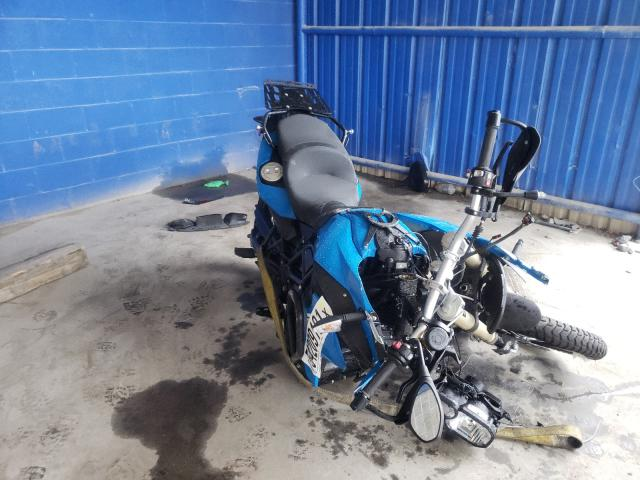 Salvage cars for sale from Copart Cartersville, GA: 2013 BMW F800 GS