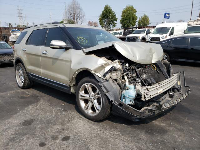 Salvage cars for sale from Copart Wilmington, CA: 2011 Ford Explorer L