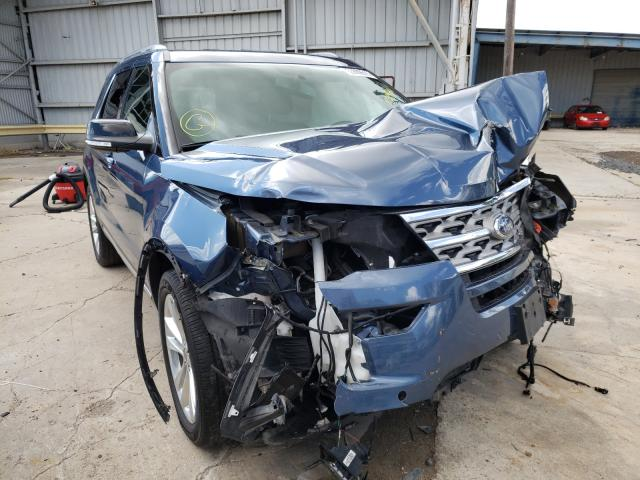 Salvage cars for sale from Copart Corpus Christi, TX: 2018 Ford Explorer X
