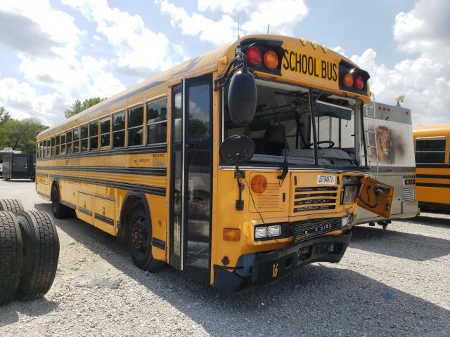 Blue Bird salvage cars for sale: 2007 Blue Bird School Bus