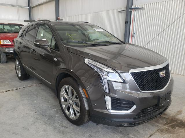 Salvage cars for sale at Greenwood, NE auction: 2020 Cadillac XT5 Sport