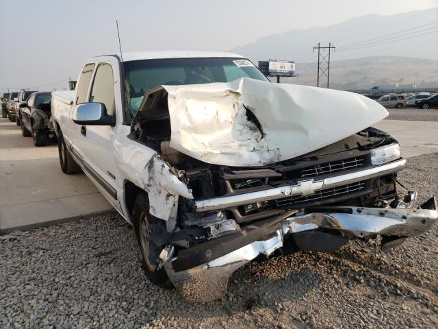 Salvage cars for sale from Copart Farr West, UT: 2002 Chevrolet Silverado