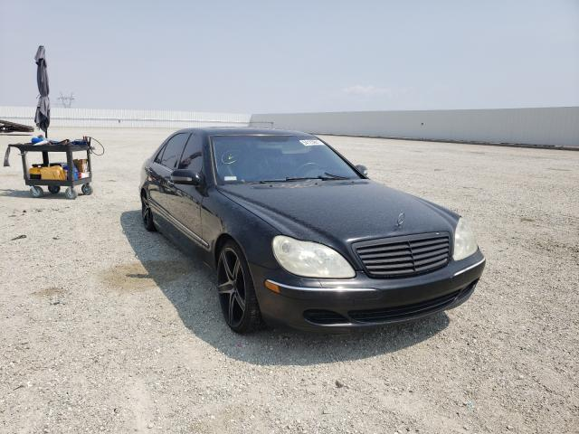 Salvage cars for sale from Copart Adelanto, CA: 2003 Mercedes-Benz S 430
