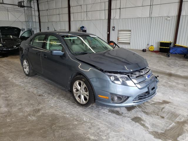 Salvage cars for sale from Copart Gastonia, NC: 2012 Ford Fusion SE