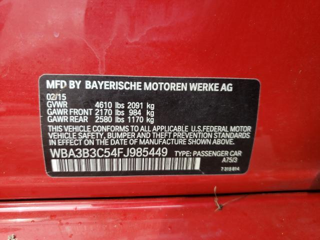 2015 BMW 328 XI WBA3B3C54FJ985449