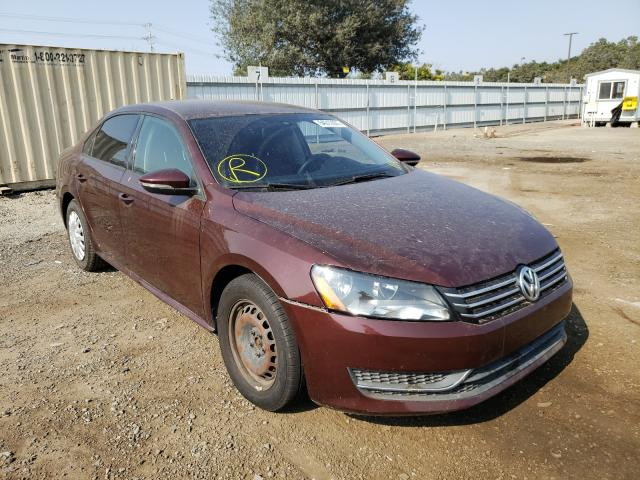 Salvage cars for sale from Copart San Diego, CA: 2012 Volkswagen Passat S