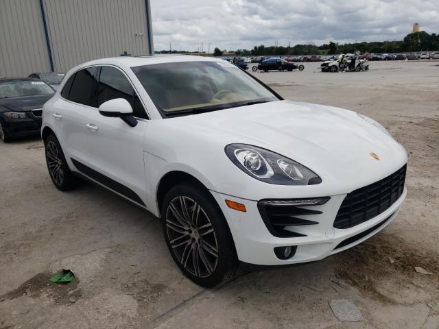 Porsche salvage cars for sale: 2016 Porsche Macan S
