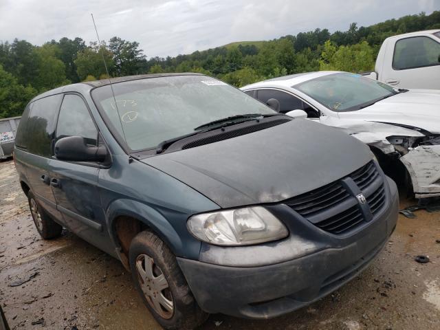 Vehiculos salvage en venta de Copart Fairburn, GA: 2006 Dodge Caravan SE
