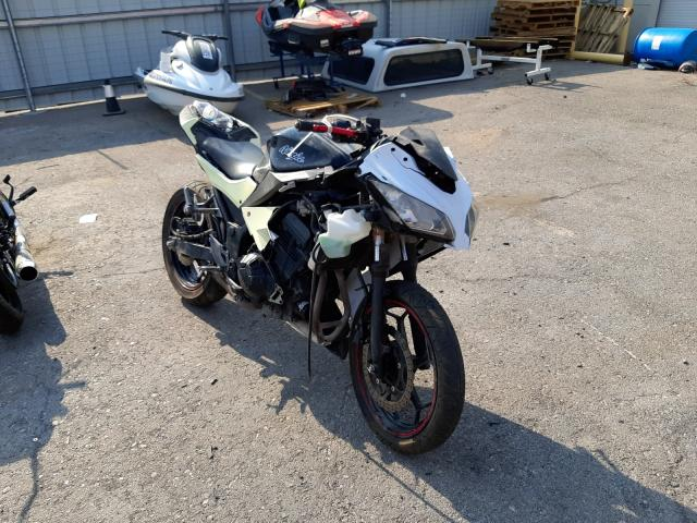 Salvage cars for sale from Copart Las Vegas, NV: 2014 Kawasaki EX300 A