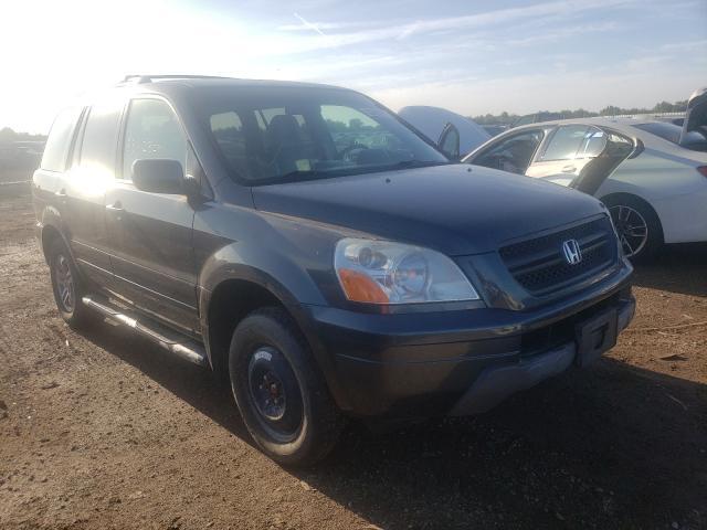 Vehiculos salvage en venta de Copart Elgin, IL: 2004 Honda Pilot EXL