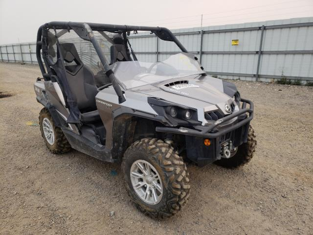 Salvage cars for sale from Copart Helena, MT: 2013 Can-Am Commander