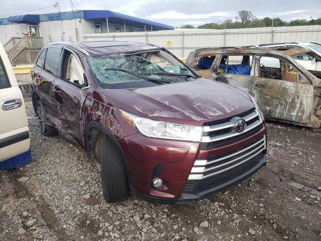 Salvage cars for sale from Copart Hueytown, AL: 2017 Toyota Highlander