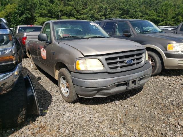 Salvage trucks for sale at Lufkin, TX auction: 2002 Ford F150