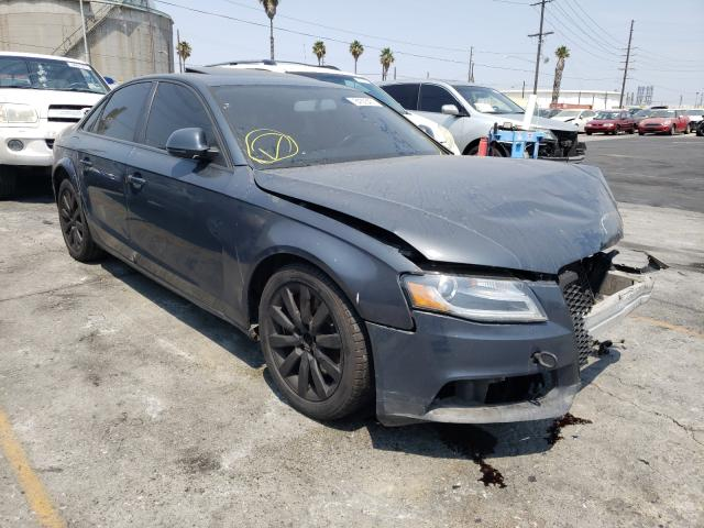 Salvage cars for sale from Copart Wilmington, CA: 2009 Audi A4 Premium