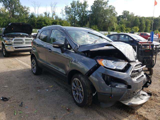 Salvage cars for sale from Copart Davison, MI: 2020 Ford Ecosport T
