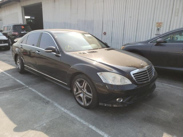 Salvage cars for sale from Copart Sun Valley, CA: 2007 Mercedes-Benz S 550