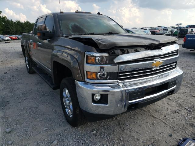 Salvage cars for sale from Copart Madisonville, TN: 2015 Chevrolet Silverado