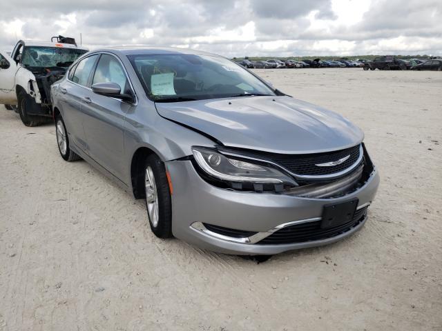 Chrysler Vehiculos salvage en venta: 2015 Chrysler 200 Limited