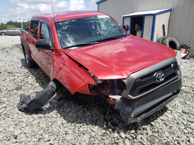 Salvage cars for sale from Copart Mebane, NC: 2015 Toyota Tacoma DOU