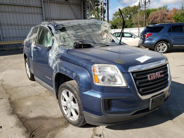 Salvage cars for sale from Copart Corpus Christi, TX: 2017 GMC Terrain SL