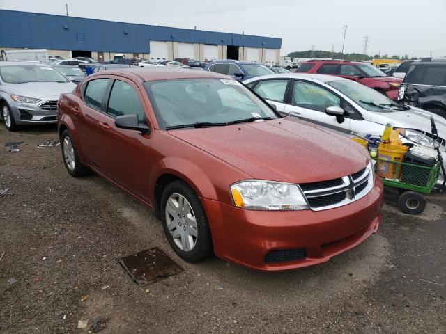 Dodge salvage cars for sale: 2012 Dodge Avenger SE
