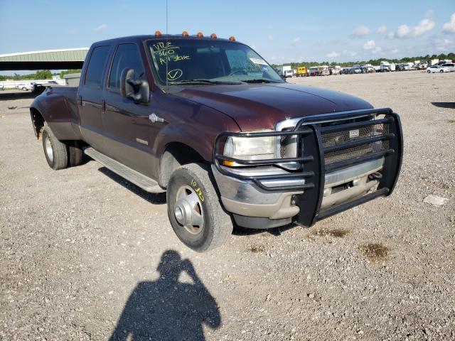 Vehiculos salvage en venta de Copart Houston, TX: 2004 Ford F350 Super