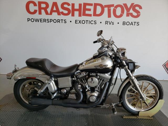 Salvage cars for sale from Copart Sikeston, MO: 2003 Harley-Davidson Fxdl Anniv