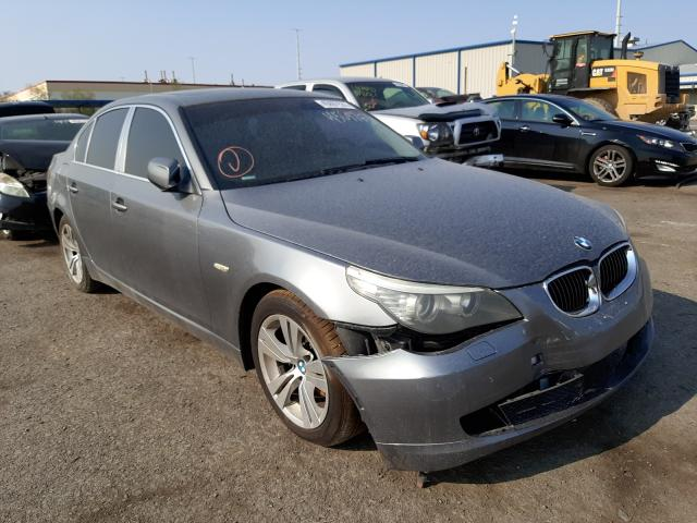 Salvage cars for sale at Las Vegas, NV auction: 2010 BMW 528 I