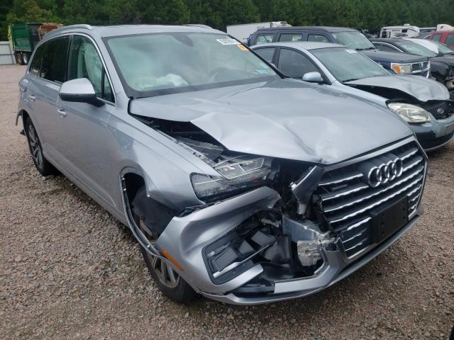 Salvage cars for sale at Charles City, VA auction: 2019 Audi Q7 Premium