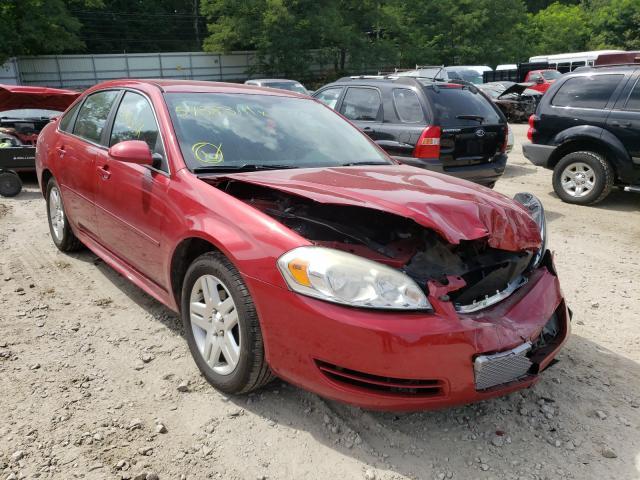 2012 Chevrolet Impala LT en venta en Mendon, MA