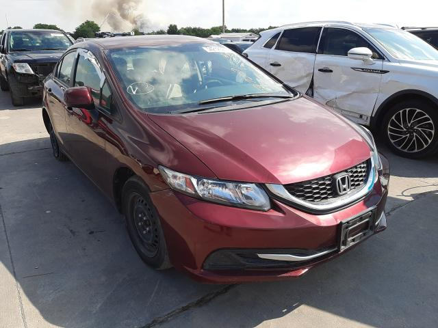 2013 Honda Civic LX en venta en Grand Prairie, TX