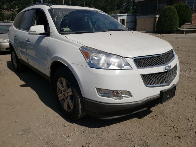 Salvage cars for sale from Copart Billerica, MA: 2012 Chevrolet Traverse L