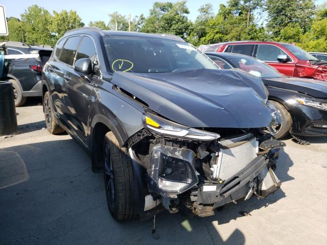 Salvage cars for sale from Copart Marlboro, NY: 2020 Hyundai Santa FE L